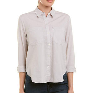 James Perse Dust Button Down Shirt